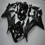 NT Aftermarket Injection ABS Plastic Fairing Fit for YZF R1 2004-2006 Glossy Matte Black N008