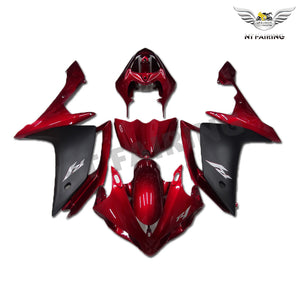 NT Aftermarket Injection ABS Plastic Fairing Fit for YZF R1 2007-2008 Red Black N033