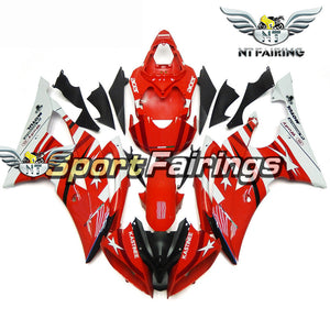 NT Aftermarket Injection ABS Plastic Fairing Fit for YZF R6 2008-2016 Red White N093