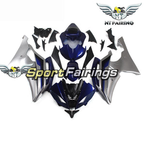 NT Aftermarket Injection ABS Plastic Fairing Fit for YZF R6 2008-2016 Blue Silver N130
