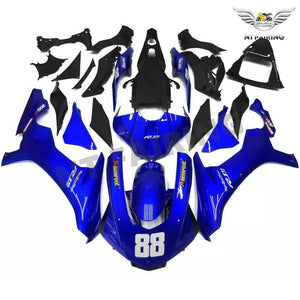 NT Aftermarket Injection ABS Plastic Fairing Fit for YZF R1 2015-2017 Blue N022 Available in TX