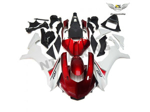 NT Aftermarket Injection ABS Plastic Fairing Fit for YZF R1 2015-2017 Red White N027 Available in TX