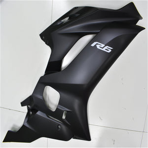 NT Aftermarket Injection ABS Plastic Fairing Fit for YZF R6 2017-2019 Black N002 Availeble in CA