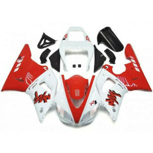 NT Aftermarket Injection ABS Plastic Fairing Fit for YZF R1 1998-1999 Red White N001 Available in IL