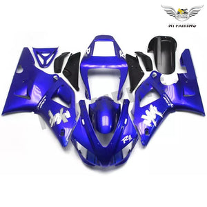 NT Aftermarket Injection ABS Plastic Fairing Fit for YZF R1 1998-1999 Blue White N027 Available in IL
