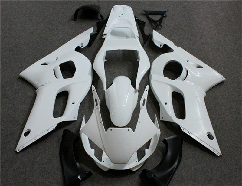 NT Unpainted Aftermarket Injection ABS Plastic Fairing Fit for YZF R6 1998-2002