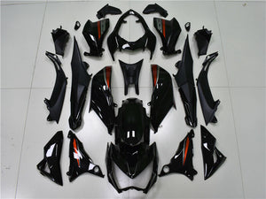 NT Aftermarket Injection ABS Plastic Fairing Fit for Z800 2013-2016 Black N001