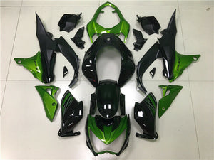 NT Aftermarket Injection ABS Plastic Fairing Fit for Z800 2013-2016 Green Black N004 Available in CA