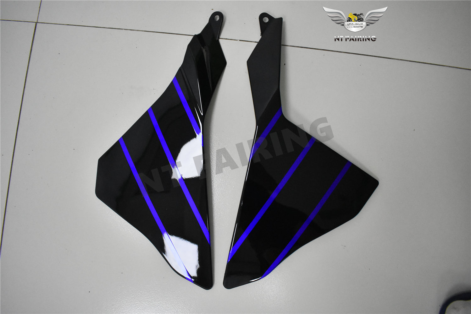 NT Aftermarket Injection ABS Plastic Fairing Fit for YZF R1 2015-2017 Blue Black PT06