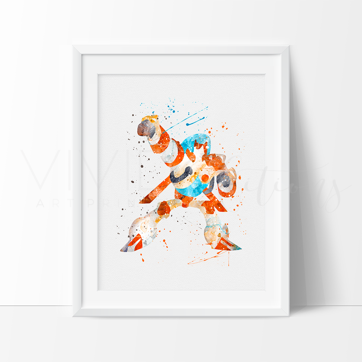Blades, Transformers Watercolor Art Print Art Print - VIVIDEDITIONS