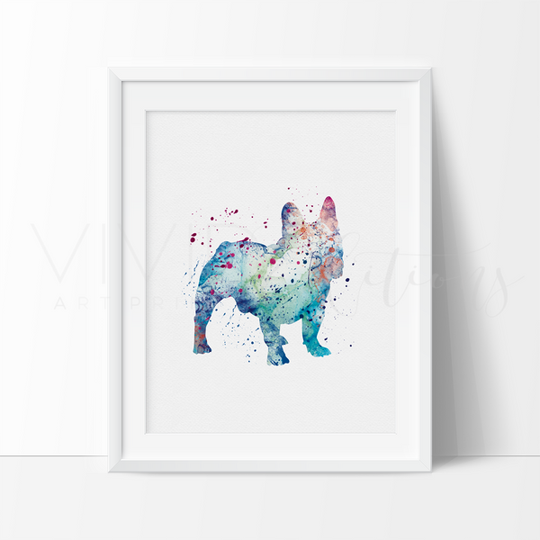 French Bulldog Art Print - VIVIDEDITIONS