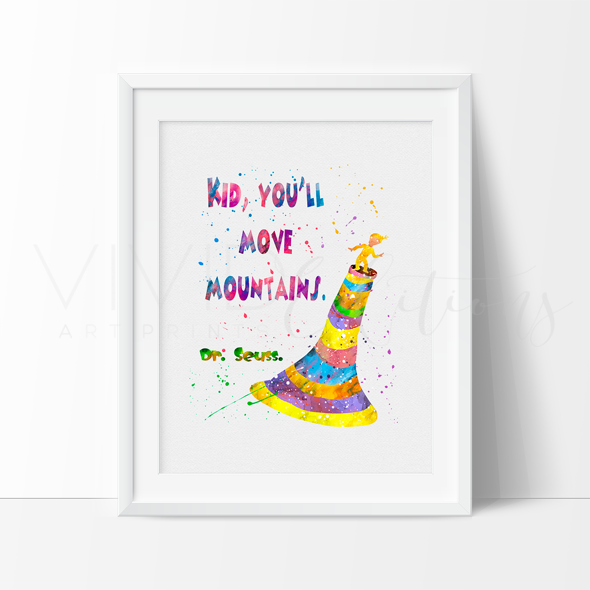 Kid Youll Move Mountains Dr Seuss Vivideditions