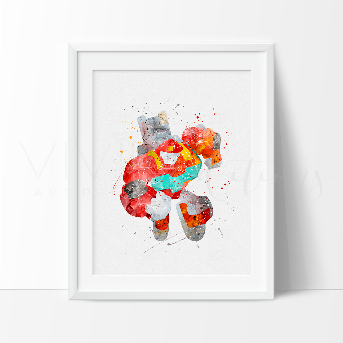 Heatwave, Transformers Watercolor Art Print Art Print - VIVIDEDITIONS