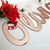 "24"" Rose Gold Medium Personalized Name Sign Art Print - VIVIDEDITIONS"