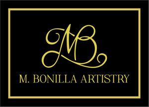 Custom Business Signage for M. Bonilla Artistry