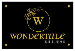 Custom Business Signage for Wondertale Designs
