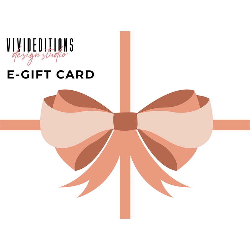 VIVIDEDITIONS E-GIFT CARD