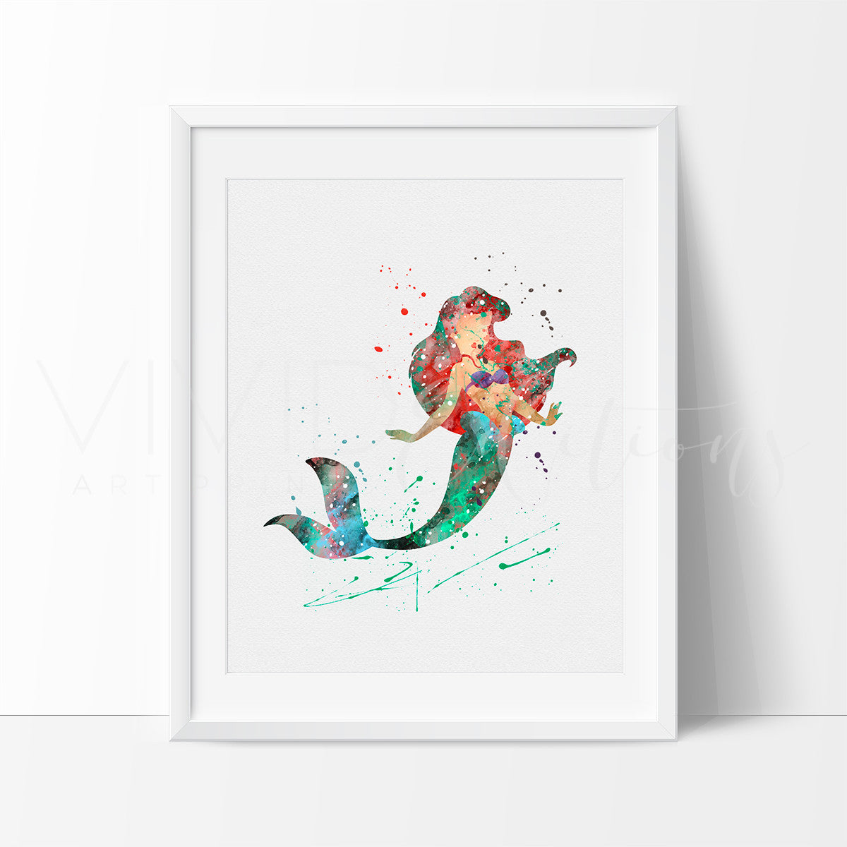 Nursery Decor The Little Mermaid Ariel Nursery Wall Art Nursery Prints Nursery Art Nursery Decor Girl Vivideditions