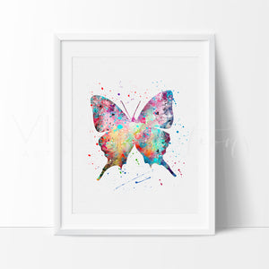 Butterfly Art Print - VIVIDEDITIONS