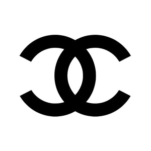Silver Mirror Chanel Logo Art Print - VIVIDEDITIONS