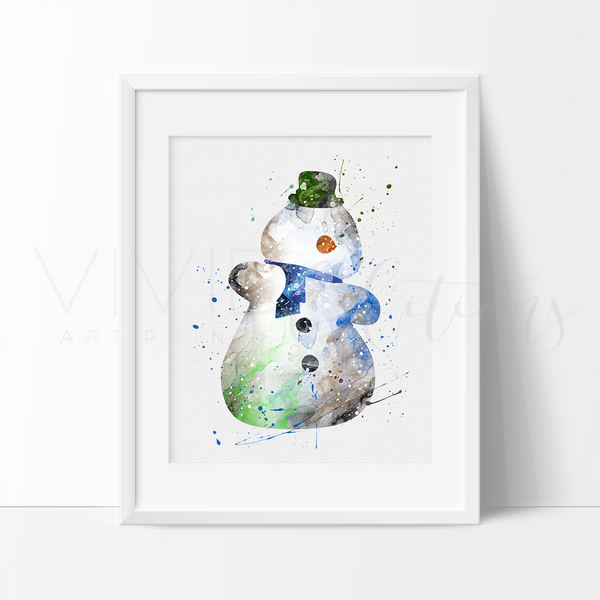 Chilly, Doc McStuffins Watercolor Art Print Art Print - VIVIDEDITIONS