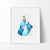 Cinderella Princess Watercolor Art Print Art Print - VIVIDEDITIONS