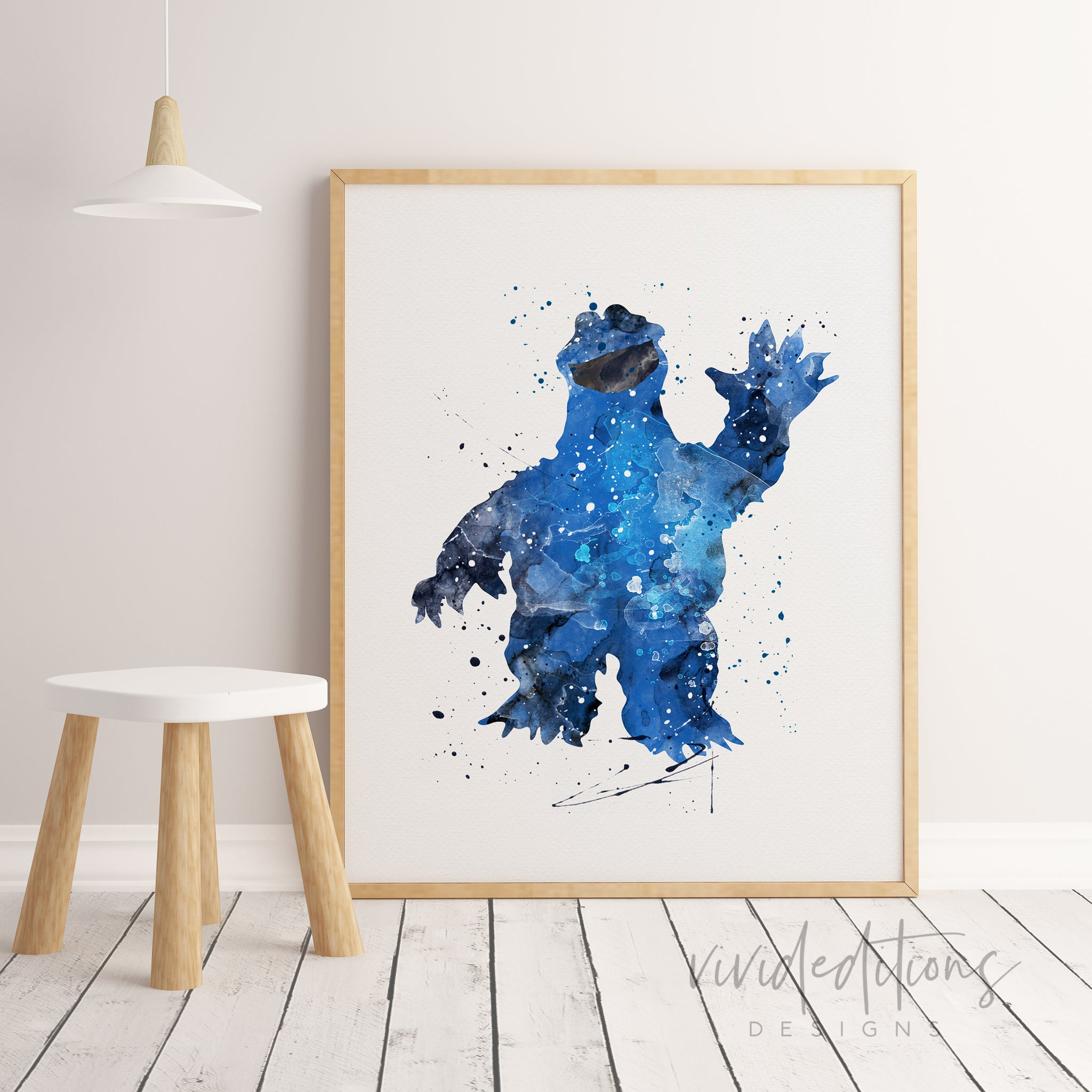 Cookie Monster Art Ideas