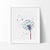 Dandelion Flower 2 Watercolor Art Print Art Print - VIVIDEDITIONS