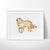 Golden Retriever Dog Art Print - VIVIDEDITIONS