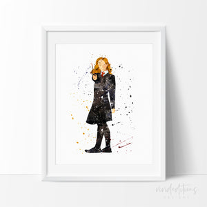 Hermione, Harry Potter Art Print Poster Art Print - VIVIDEDITIONS