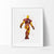 Iron Man 2 Watercolor Art Print Art Print - VIVIDEDITIONS