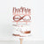 Mr & Mrs Infinity Wedding Cake Topper, Chic Art Print - VIVIDEDITIONS