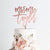 Mr & Mrs Last Name Wedding Cake Topper, Trendy Art Print - VIVIDEDITIONS