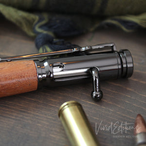 Personalized Engraved .30 Cal Bolt Action Pen