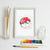 Pokeball, Pokemon Go Watercolor Art Print Art Print - VIVIDEDITIONS