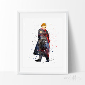 Ronald Weasley, harry potter nursery art print poster