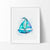 Sailboat Art Print - VIVIDEDITIONS