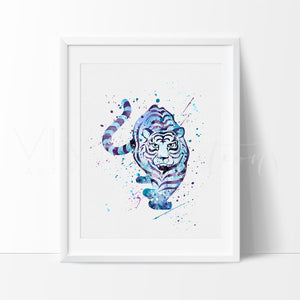 Tiger Art Print - VIVIDEDITIONS