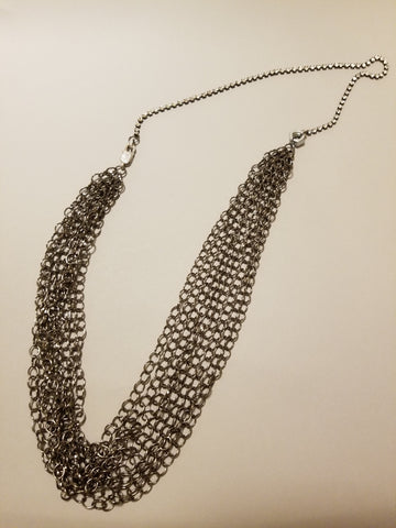 Industrial Sparkle Necklace