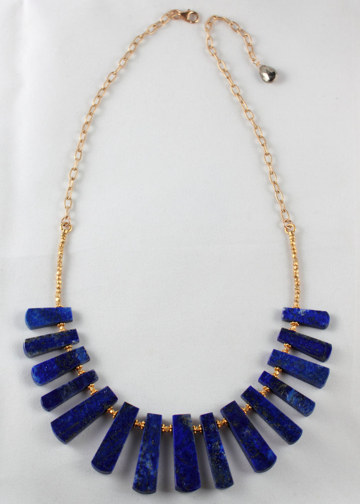 Lapis Egyptian Necklace