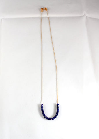 Lapis Snake Necklace