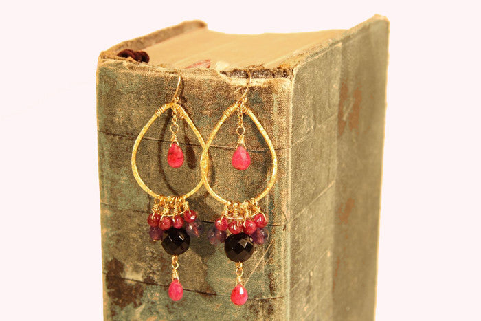 Ruby Earrings Special Order