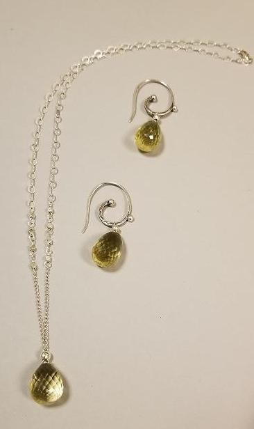 Yellow Topaz Necklace