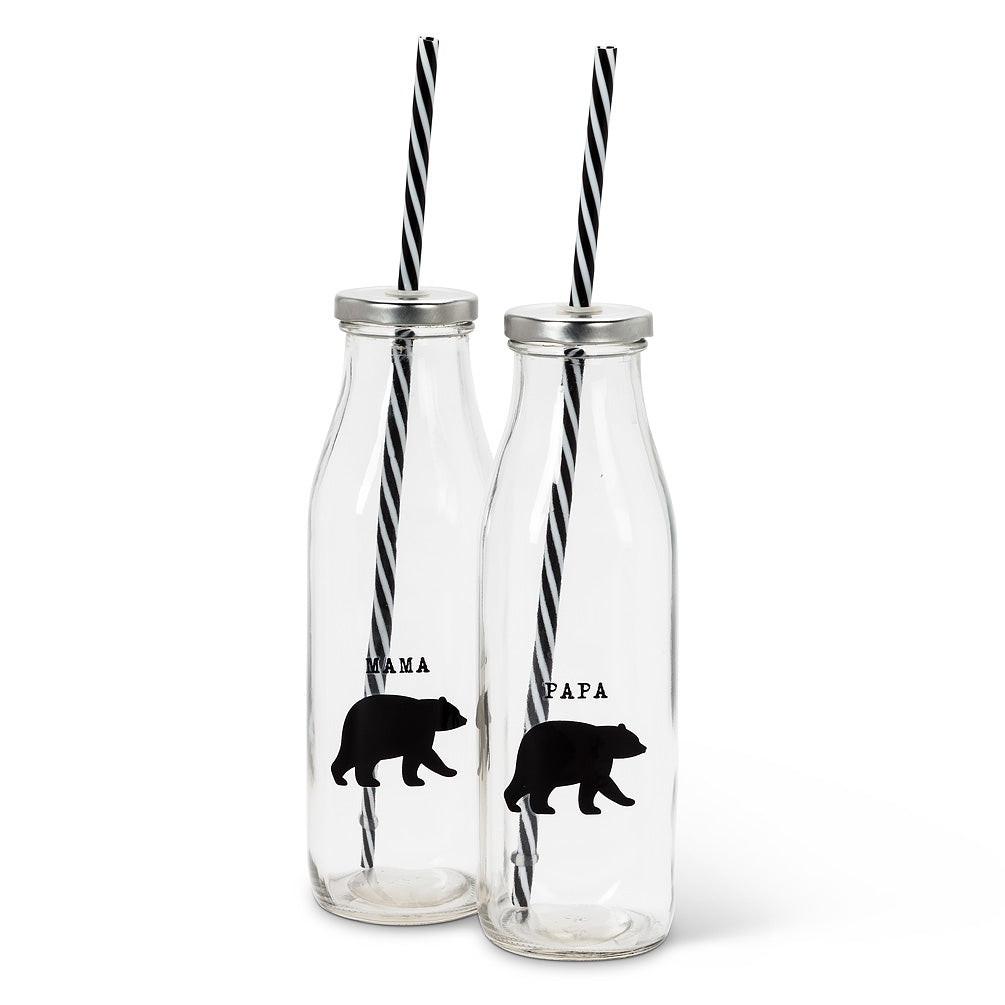 BEAR SIPPERS SET