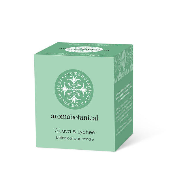 AROMABOTANICAL GUAVA LYCHEE CANDLE