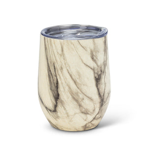 INSULATED GOBLET MARBLE FINISH