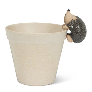 CLIMBING HEDGEHOG POT HANGER