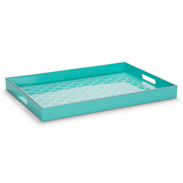 GLOSSY TRAYS WITH PRINT