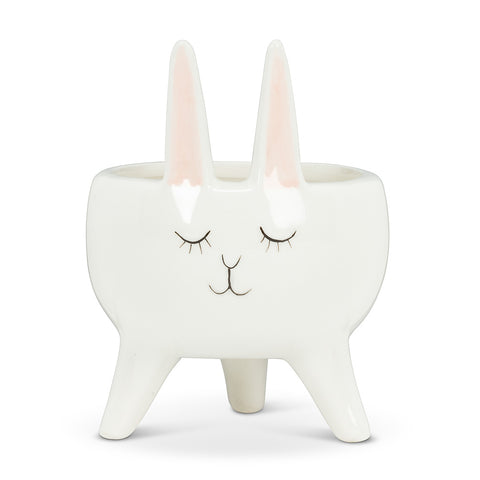 MINI PLANTER-RABBIT