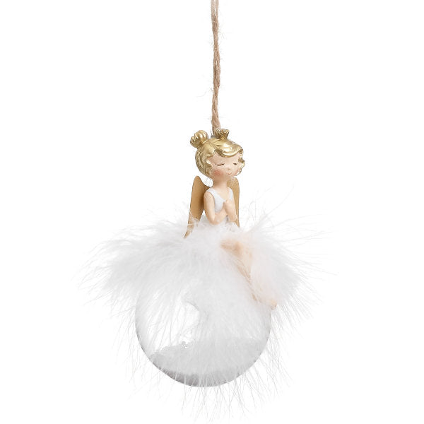 ANGEL BALL ORNAMENT